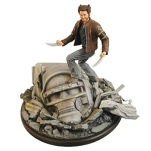 Movie Milestones X-Men 3 Danger Room Statue