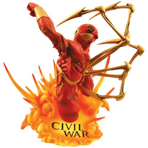 Marvel Universe Civil War Iron Spider-Man Bust