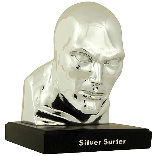 Alex Ross Silver Surfer Head Bust