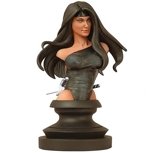 Marvel Icons Black Elektra Bust