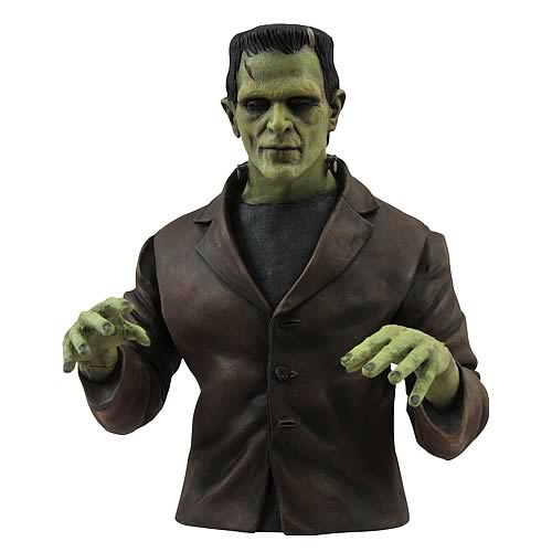 Universal Monsters Select Frankenstein Monster Bust Bank