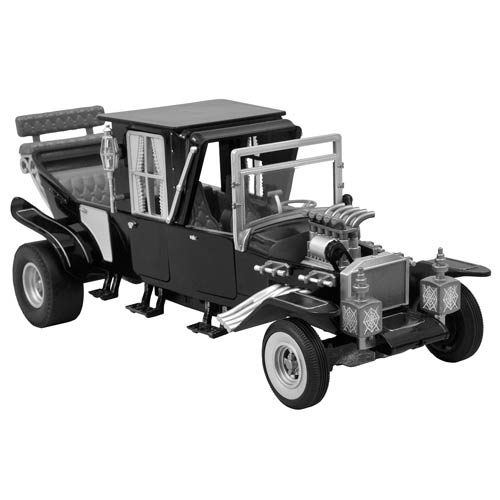 Munsters Koach Black and White 1:15 Scale Electronic Vehicle