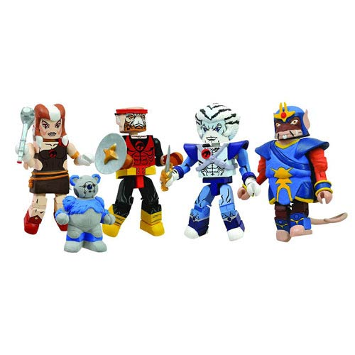 Thundercats Ho Minimates Mini-Figure Box Set