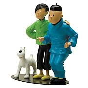 Adventures of Tintin Chang Meets Tintin Resin Statue