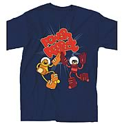 Bravest Warriors Power and Respect Black T-Shirt