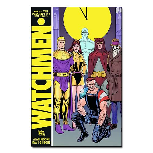 Watchmen International Edition Graphic Novel