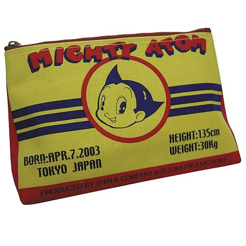 Astro Boy Atom Face Pouch Coin Purse