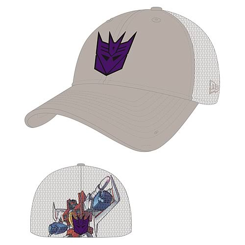 Transformers Starscream Heromesh New Era Stretch Fit Hat