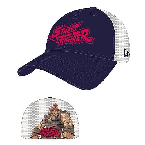 Street Fighter Akuma Heromesh New Era Stretch Fit Hat