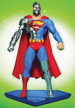 Cyborg Superman Action Figure