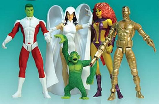 Teen Titan Toy : Classic teen titans boxed set diamond select