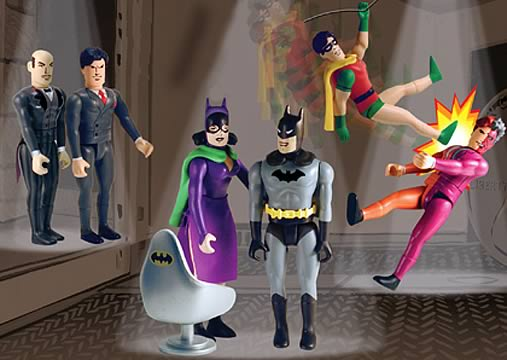 Batman Pocket Super Heroes Set