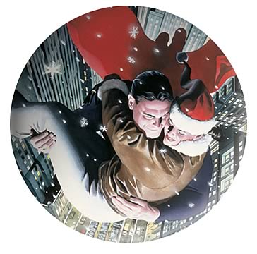 Superman & Lois Lane Holiday Collector's Plate