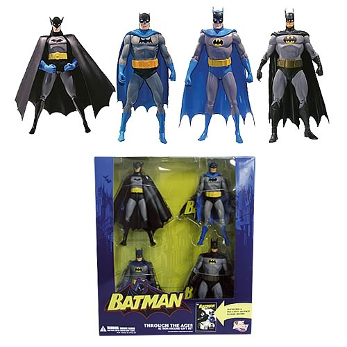 Batman Through the Ages Action Figures