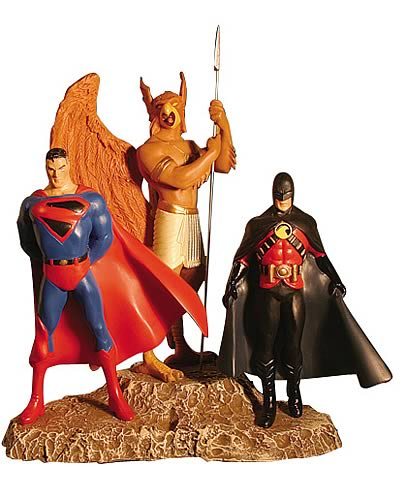 Kingdom Come: Superman, Hawkman, & Red Robin Statue