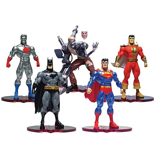 Superman Batman  Public Enemies Series 1 Action Figure Set