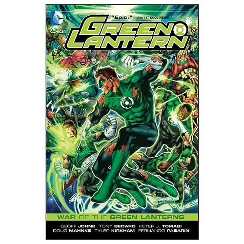 Green Lantern War of the Green Lanterns Graphic Novel