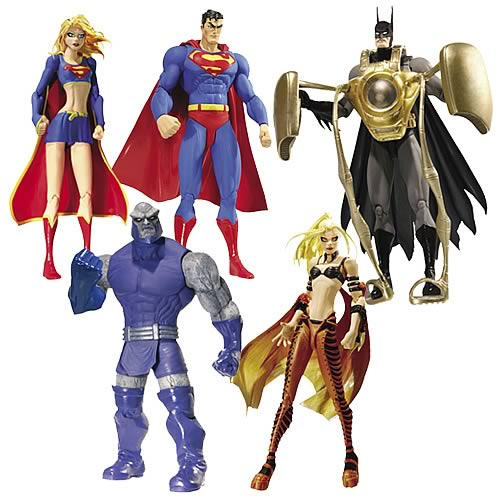 Superman Batman Series 2 Action Figure Set