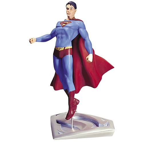 Superman Returns Superman In Flight Statue