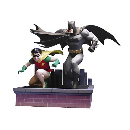 All Star Batman and Robin Statue
