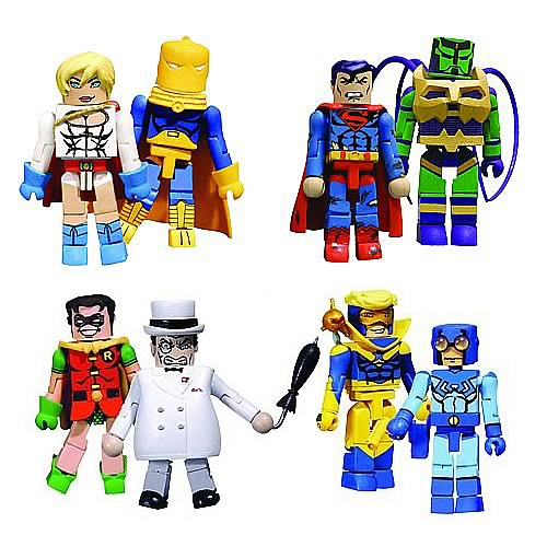 DC Minimates Wave 2 Action Figure Set