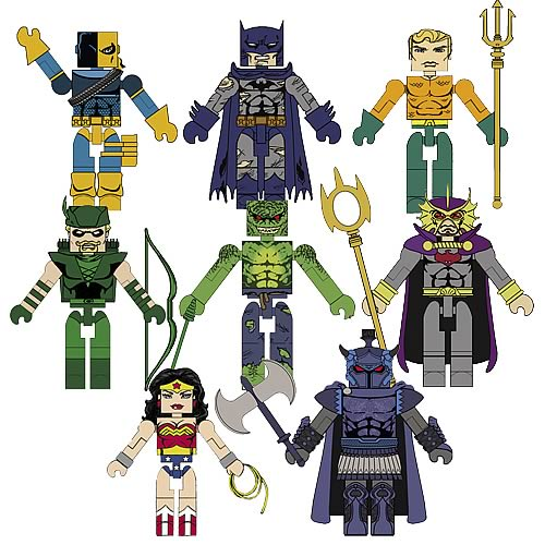 DC Minimates Wave 3 Action Figure Set