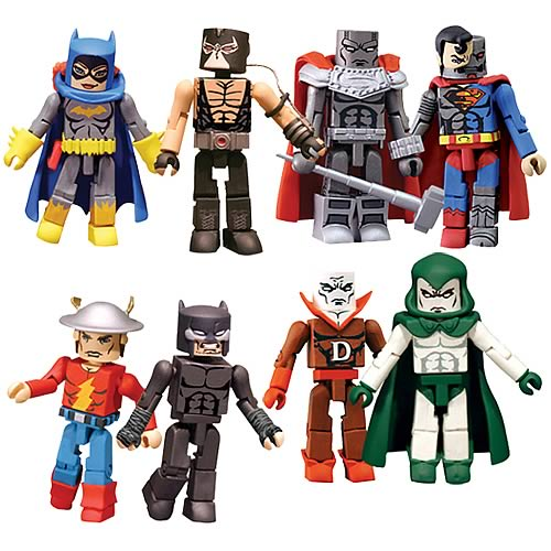 DC Minimates Wave 4 Action Figure Set