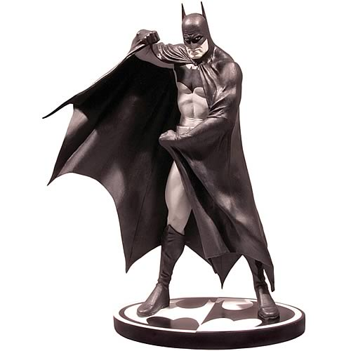 Alex Ross Batman Black And White Statue