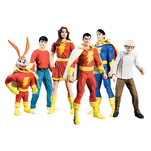 Shazam Series 1 Action Figure Set
