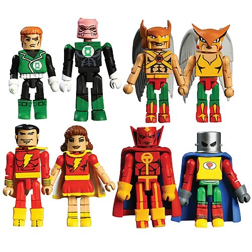 DC Minimates Wave 5 Action Figure Set