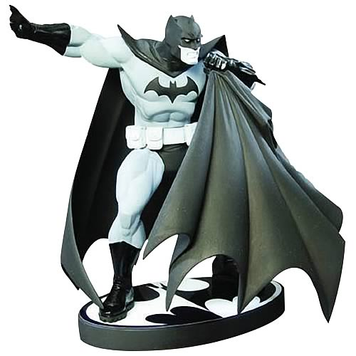 Batman Black and White Andy Kubert Statue