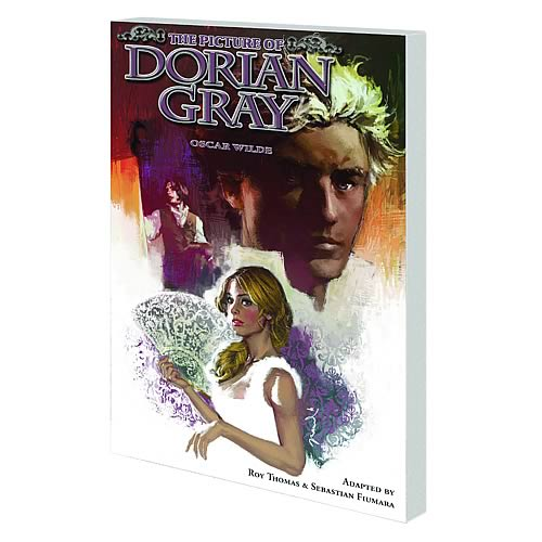 Marvel Illustrated Picture of Dorian Gray Graphic Novel