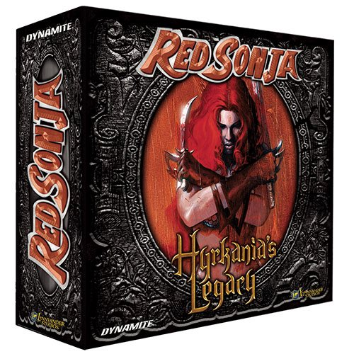 Red Sonja Hyrkanias Legacy Board Game