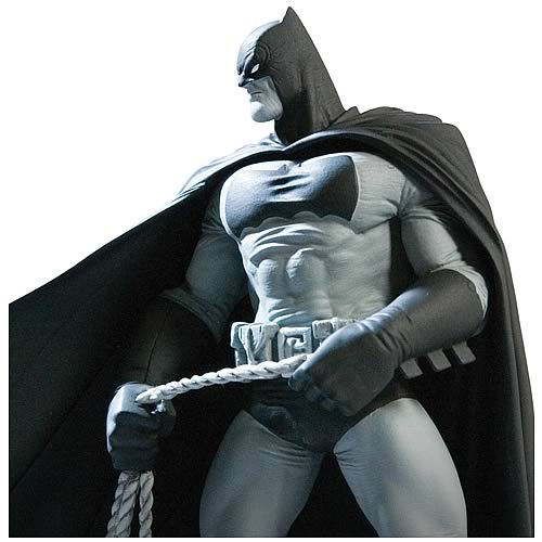 Batman Black and White Frank Miller Statue