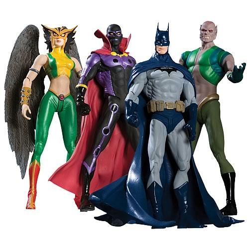 Justice league action figures set