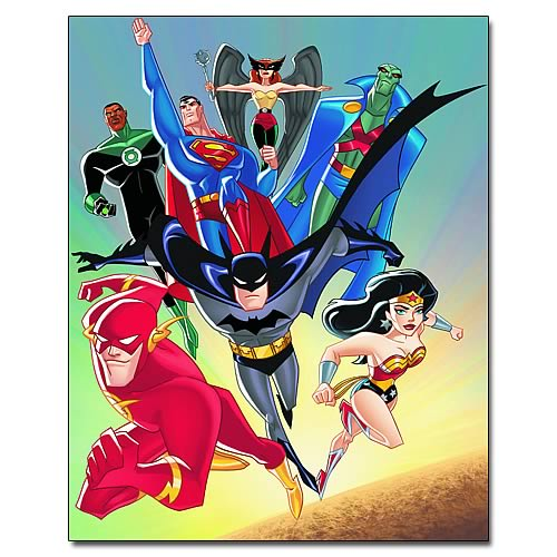 Justice League Unlimited Heroes Graphic Novel