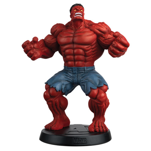 Marvel Fact Files Special #14 Red Hulk Figure