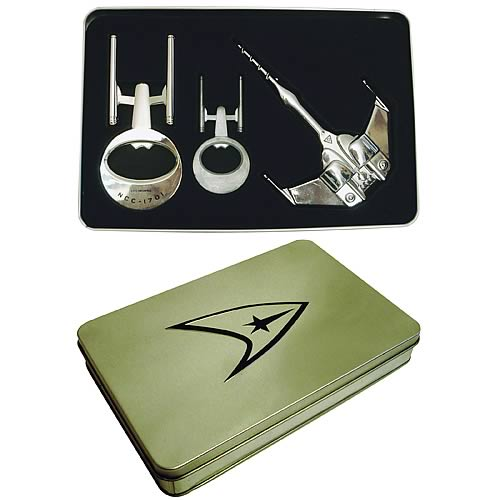 Star Trek Bottle Opener Tin Gift Set