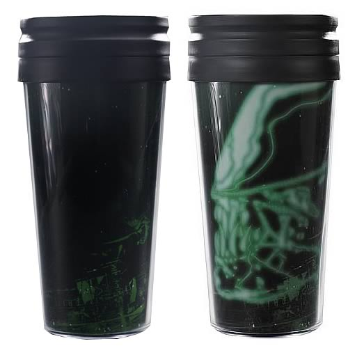 Alien Glowing Xenomorph Travel Mug