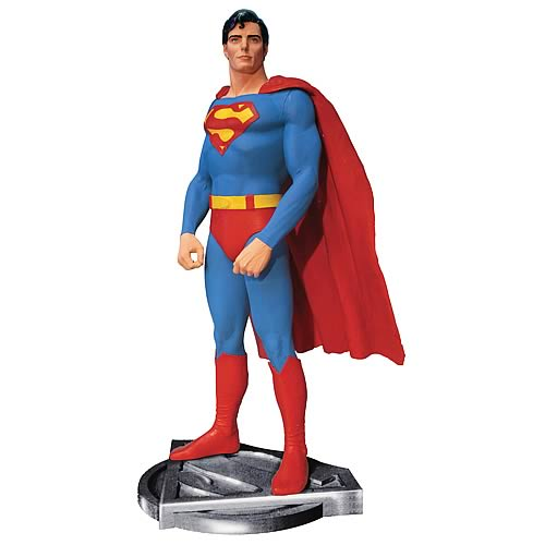 Superman christopher reeve statue limited edition