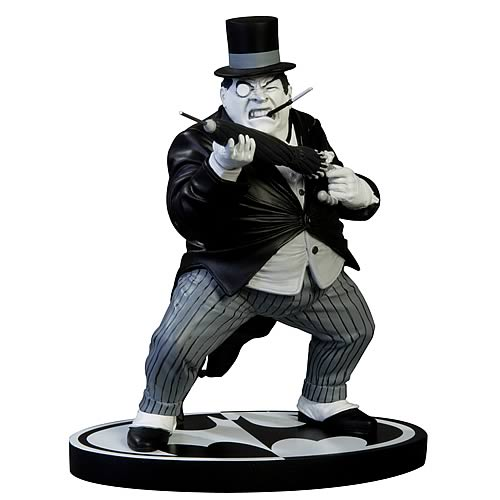 Batman The Penguin Black and White Statue