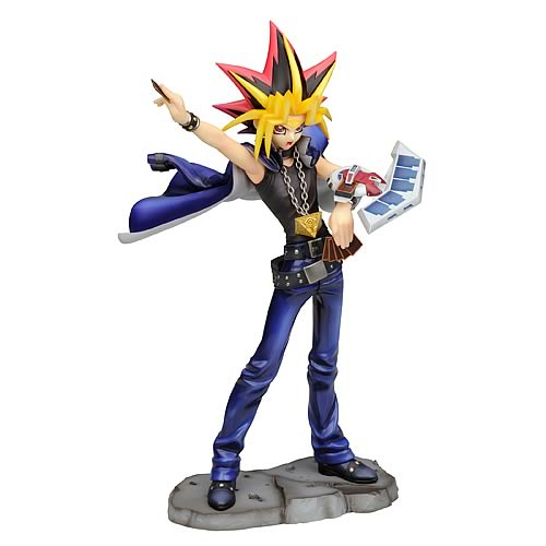 Yu-Gi-Oh! Yami Yugi Duel with Destiny ArtFX Statue