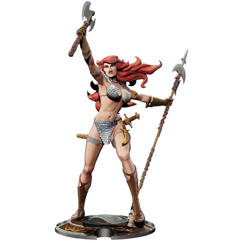 Red Sonja 45th Anniversary by Frank Thorne Statue