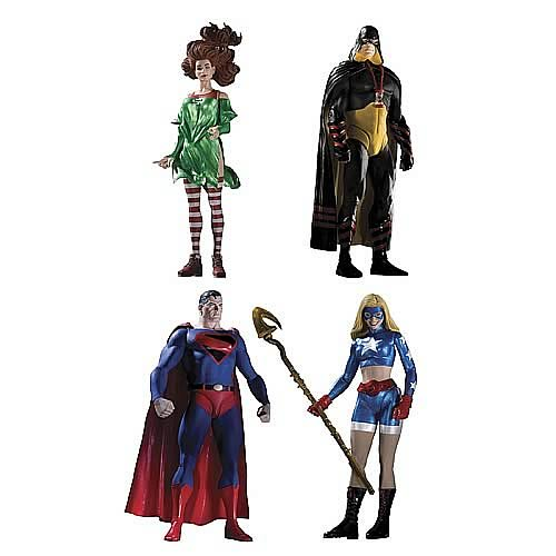 Justice Society of America Action Figures Series 2 Set