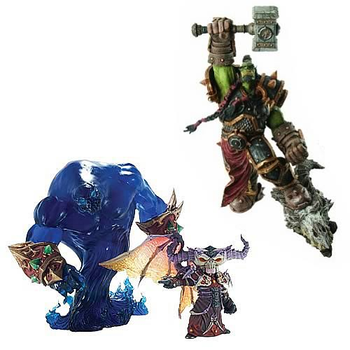 World of Warcraft Premium Series 2 Action Figure Set