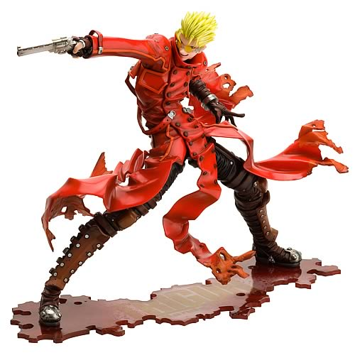 Trigun Badlands Rumble Vash the Stampede ArtFXJ Statue
