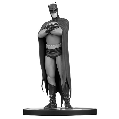 Batman Black and White Frank Quitely Statue