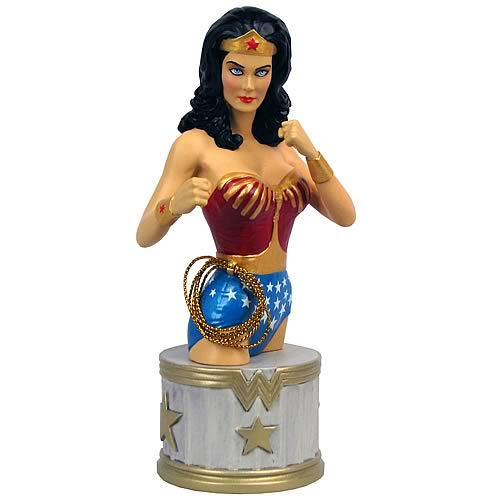 Wonder Woman Lynda Carter Bust