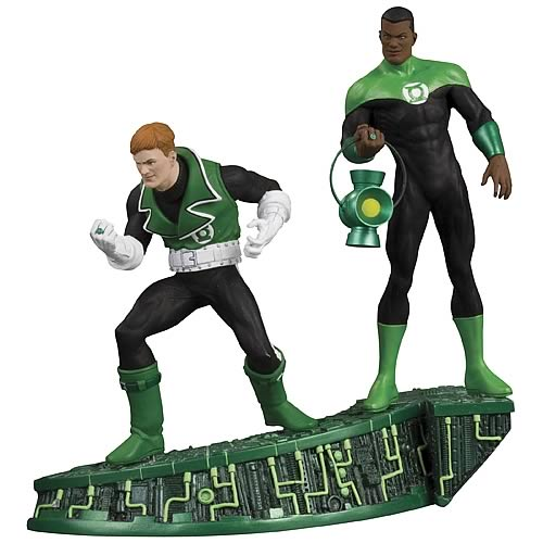 Green Lantern Legacies Guy Gardner and John Stewart Statue