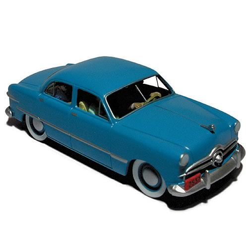 Adventures of Tintin Dodge Coronet Car Statue